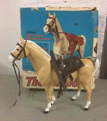 MARX Johnny West Thunderbolt Horse w/Accessories 2061 Orig Box