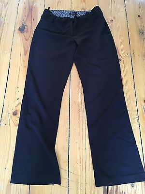 New Look Maternity Black Work Trousers Size 10 Smart