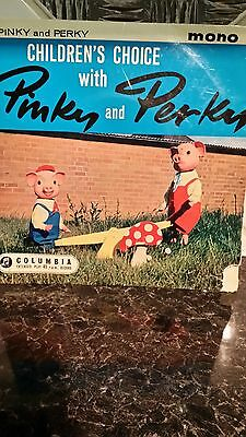 pinky and perky childrens 45 rpm record