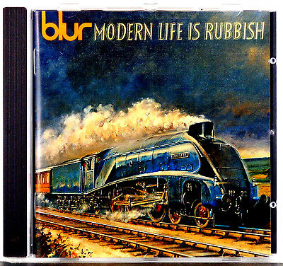 Blur - Modern Life Is Rubbish 1993 Food Records CD Album Ex/M