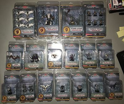 D&D ATTACK WING Lot 17 figures NEW GIANTS, TROOPS, CULT WARRIORS, CANADA SELLER