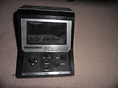 grandstand scramble vintage retro game 1982 - untested