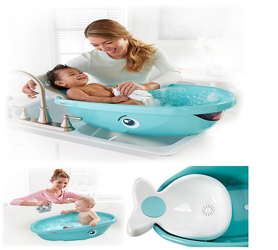 Baby Bathtub Whale Bath Tub Infant Newborn Bathing Shower Fisher-Price