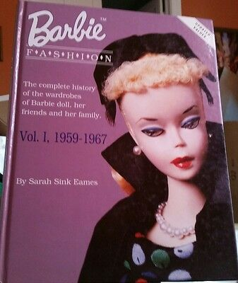 BARBIE FASHION Collector Book VOL Volume 1 1959-1967 SARAH EAMES