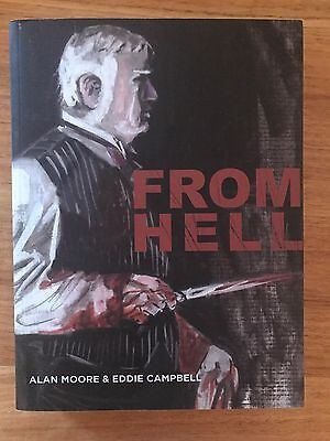 From Hell paperback, Alan Moore Jack the Ripper Graphic Novel