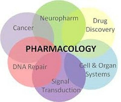 Pharmacology DVD &  Drug Guide in English & Spanish 2 dvds