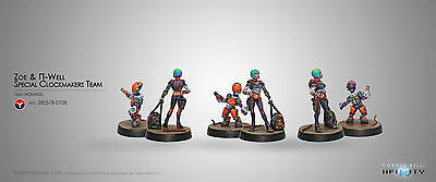 Infinity Corvus Belli Zoe & Pi-Well Nomads blister metal new