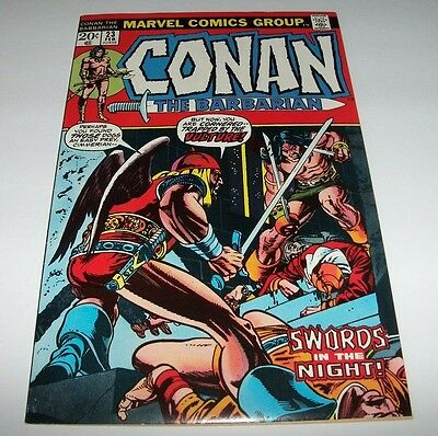 Conan #23 VF+ Key Issue 1st Appearance Red Sonja Marvel Bronze Age Comic 1973