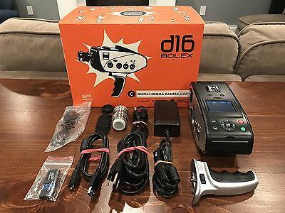Digital Bolex D16 Digital Cinema Camera, 1TB Internal SSD &  25mm C-Mount Lens