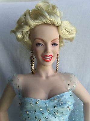 Franklin Mint MARILYN MONROE There's No Business Like Show Business Doll MIB