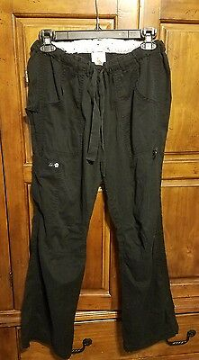 Koi by Kathy Peterson Womens Size M Black Scrub Pants
