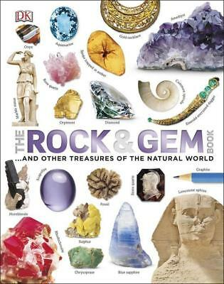 NEW The Rock and Gem Book By Clive Gifford Hardcover Free Shipping