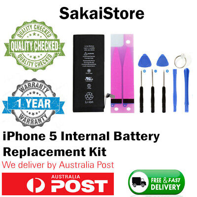 For iPhone 5 Internal Battery Replacement Kit - OEM Internals
