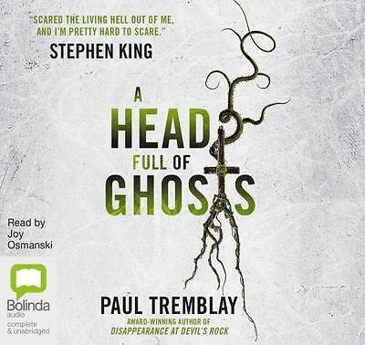 NEW A Head Full Of Ghosts: By  Paul Tremblay  Audio CD Free Shipping