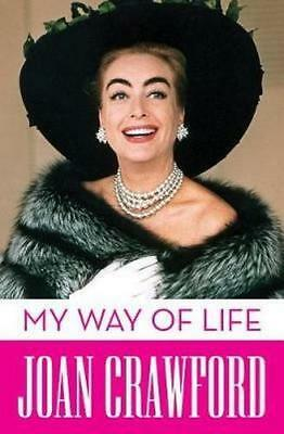 NEW My Way of Life By Joan Crawford Paperback Free Shipping