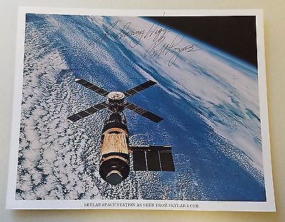 William R. 'bill' Pogue Skylab 4 Nasa Astronaut Signed Autographed 8X10 Photo