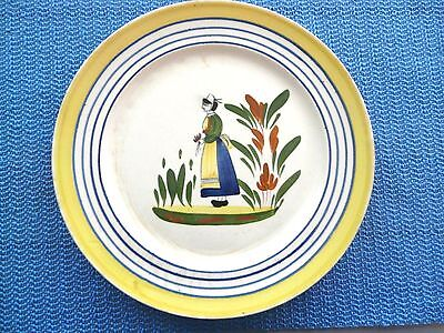Blue Ridge Pottery Plate Lyonaise Cute Rare Collectible Decorative Deal