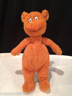 """HOP ON POP brown bear LARGE PLUSH by DR SEUSS 17"""" TALL kohl's cares STUFFED"""