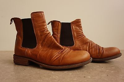 EOS Will Brandy Boots | Ladies | Shoes | Leather | Tan | Brown | Ankle Boot |