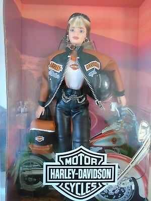 1999 Barbie: Harley Davidson Collector Doll!!! Box Never Openned!!!