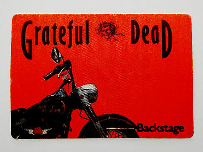 Grateful Dead Backstage Pass Harley Davidson Motorcycle Bike Chopper No Date