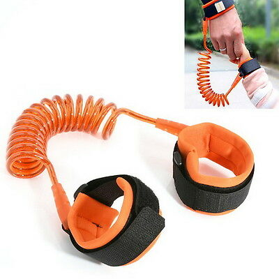 Kids Safety Leash Anti Lost Wrist Strap Baby Walk Child Toddler Link Harness US