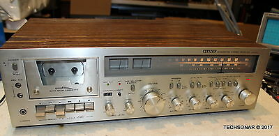 CITIZEN JS9323 Integrated Stereo AM/FM Receiver and Cassette Deck