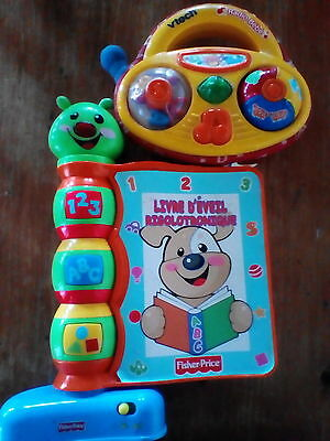French Baby Toys Vtech, Fisher Price