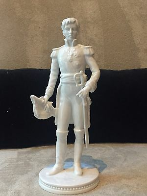 Vintage Napoleon Military Uniform Figurine Alka Kunst Germany Porcelain German