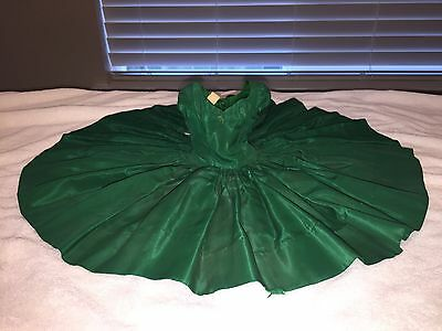 RARE Cissy Tagged Dress - Emerald Green (No Doll)