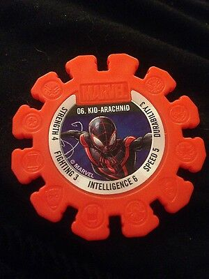 Woolworths Marvel Heroes Collectable Discs RARE #6 Kid-Arachnid