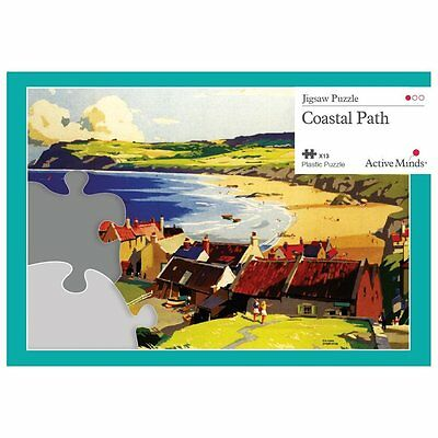 Coastal Path - 13 Piece Jigsaw Puzzle Activity Designed for Elderly People with