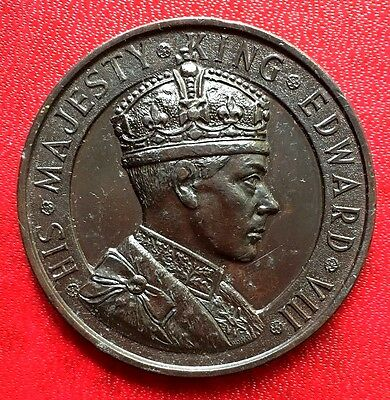 1937 Great Britain Coin King Edward VIII Great Detail
