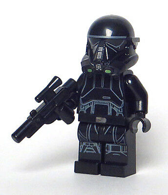 LEGO Star Wars Rogue One 75165 - Black Imperial Death Trooper Minifigure (NEW)