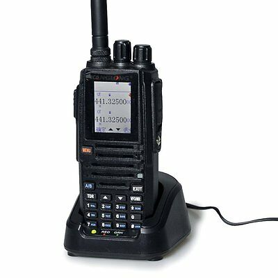 HESENATE KL-320 Large COLOR Display Two Way Radio Dual Band Handheld Transceiver