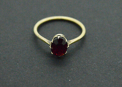 Jewelry 875 Silver rings with ruby gemstone 2gr