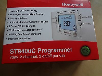 HONEYWELL ST9400C 7 Day 2 Channel Programmer BNIB. Same day shipping 1st class.