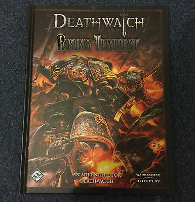 Deathwatch Rising Tempest Roleplaying Game Book
