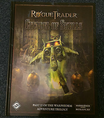 Rogue Trader Citadel of Skulls Roleplaying Game Book