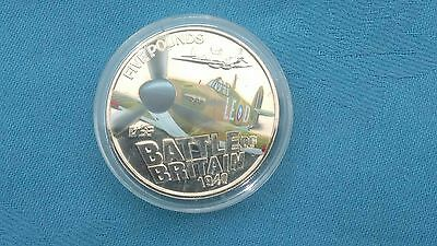The Battle of Britain coin.8