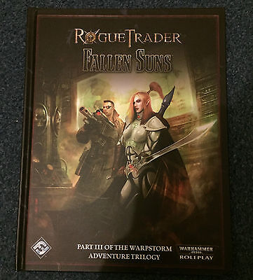 Rogue Trader Fallen Suns Roleplaying Game Book