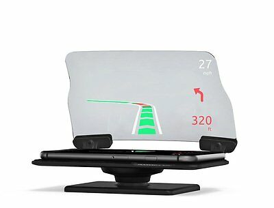 HUDWAY Glass V2.0 - Universal Head-Up Display HUD for any car. FREE apps