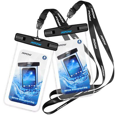 Mpow Underwater Waterproof Case Dry Bags Pouch for Mobile Phone iPhone Samsung