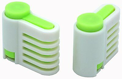 2PCS DIY Cake Slicer , Stratification Auxiliary, Bread Slice, Toast Cut, 5 Layer