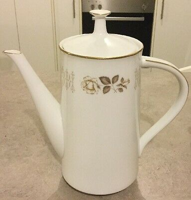 "Noritake ""Goldthorn"" Large Coffee Pot"