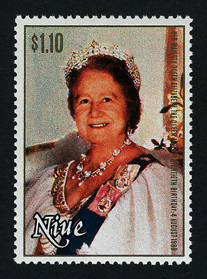 Niue 291 MNH Royalty, Queen Mother 80th Birthday