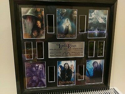 Lord Of The Rings Genuine 8 X Film Cell