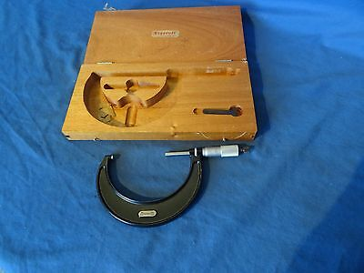 Starrett 75mm to 100mm micrometer