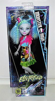 Monster High Electrified Silvi Timberwolf Doll - New in Box