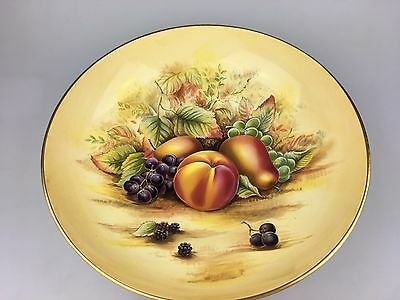 Aynsley - Orchard Gold - Large Bowl - Signed By Michael Aynsley - Bone China